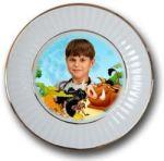 Пример 4 печати фото на тарелке